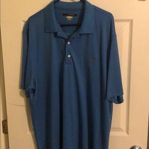 Greg Norman Collection Teal Golf Shirt
